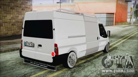Ford Transit 350L for GTA San Andreas left view