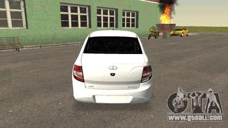 Lada Granlina for GTA San Andreas back left view