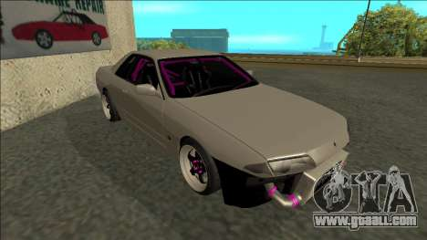 Nissan Skyline R32 Drift for GTA San Andreas left view