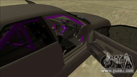 Nissan Skyline R32 Drift Sedan for GTA San Andreas upper view