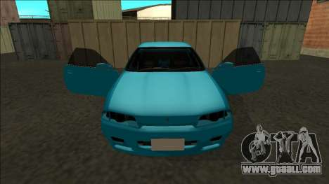 Nissan Skyline R32 Drift for GTA San Andreas bottom view