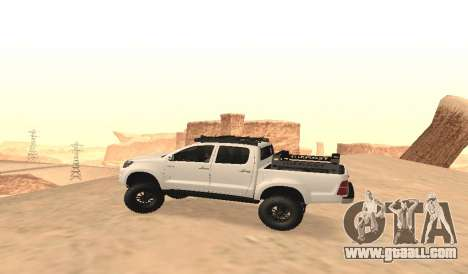 Toyota Hilux 4WD 2015 Rustica for GTA San Andreas left view