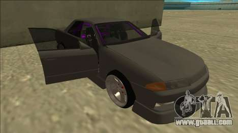 Nissan Skyline R32 Drift Sedan for GTA San Andreas wheels