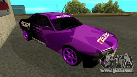Nissan Skyline R32 Drift Falken for GTA San Andreas left view