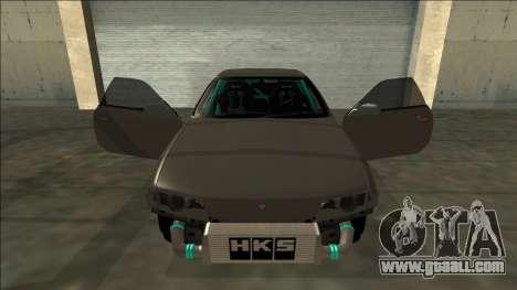 Nissan Skyline R32 Drift for GTA San Andreas upper view
