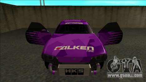 Nissan Skyline R32 Drift Falken for GTA San Andreas bottom view