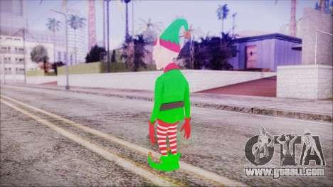 Christmas Elf v2 for GTA San Andreas third screenshot
