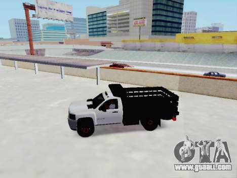 Chevrolet Silverado 3500 HD for GTA San Andreas