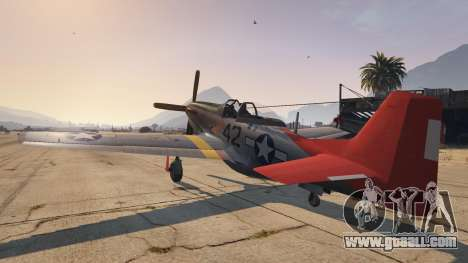 GTA 5 P-51D Mustang third screenshot