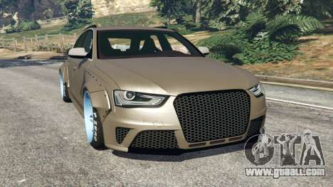 Audi RS4 Avant [LibertyWalk] for GTA 5