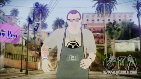 GTA 5 Ammu-Nation Seller 1 for GTA San Andreas