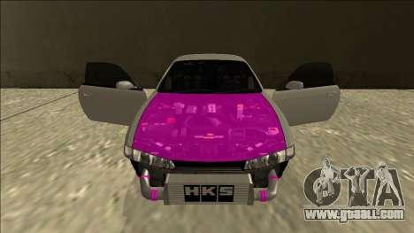 Nissan Silvia S14 Drift for GTA San Andreas upper view