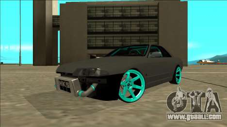 Nissan Skyline R32 Drift for GTA San Andreas back left view