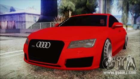 Audi A7 Messer v1 for GTA San Andreas