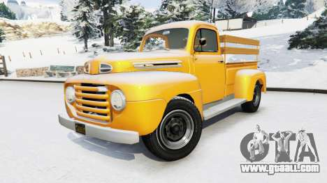 GTA 5 Ford F-150 1949 right side view