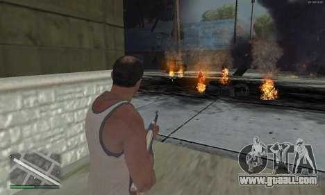 Meteors Mod for GTA San Andreas forth screenshot