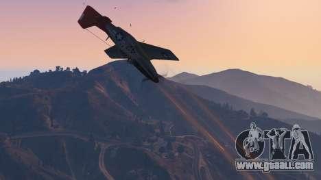 GTA 5 P-51D Mustang ninth screenshot