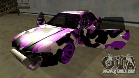 Nissan Skyline R33 Drift for GTA San Andreas side view