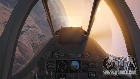 GTA 5 P-51D Mustang sixth screenshot