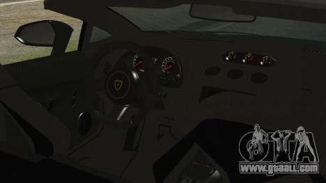 Lamborginhi Gallardo LP-570 Spyder HxH Neferpito for GTA San Andreas right view