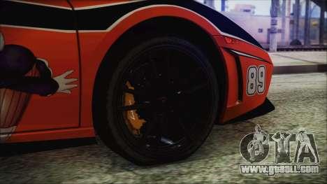 Lamborginhi Gallardo LP-570 Spyder HxH Neferpito for GTA San Andreas back left view