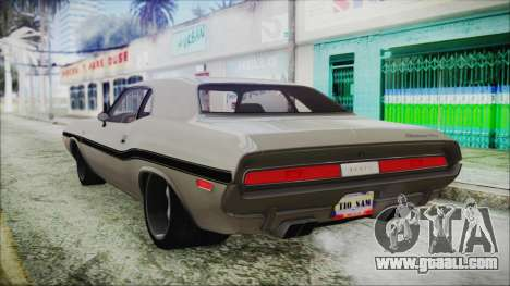 Dodge Challenger RT for GTA San Andreas left view