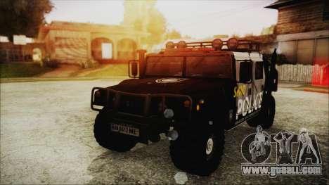 Hummer H1 Police for GTA San Andreas