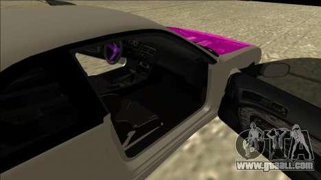 Nissan Silvia S14 Drift for GTA San Andreas back view