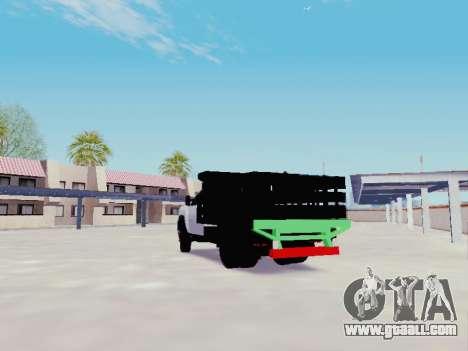 Chevrolet Silverado 3500 HD for GTA San Andreas back left view