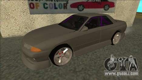 Nissan Skyline R32 Drift Sedan for GTA San Andreas