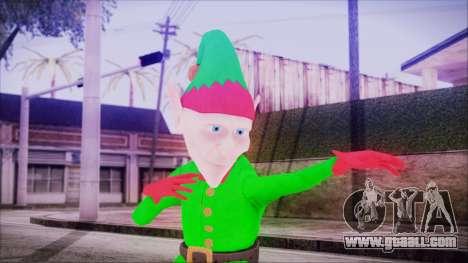 Christmas Elf v2 for GTA San Andreas