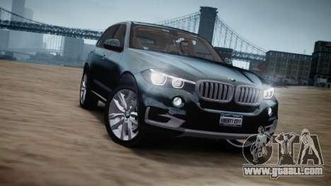 BMW X5 2015 for GTA 4