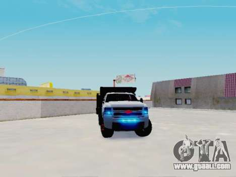 Chevrolet Silverado 3500 HD for GTA San Andreas right view