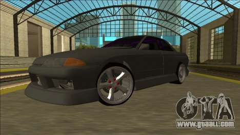 Nissan Skyline R32 Drift Sedan for GTA San Andreas back view
