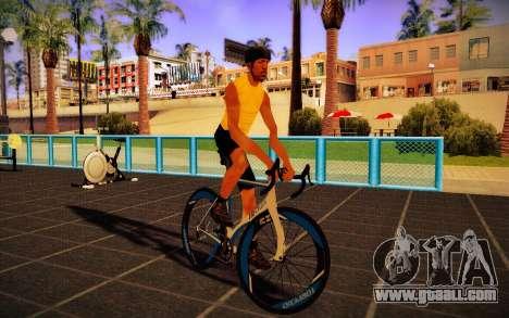 GTA V Tri-Cycles Race Bike for GTA San Andreas back left view