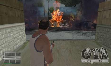 Meteors Mod for GTA San Andreas third screenshot