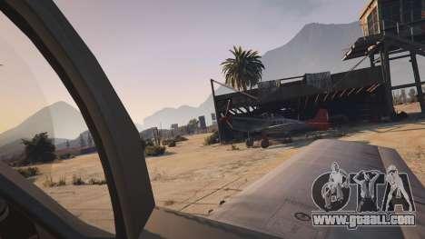 GTA 5 P-51D Mustang fifth screenshot