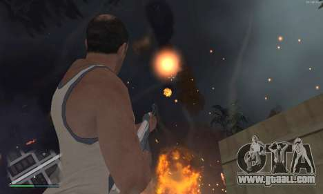 Meteors Mod for GTA San Andreas second screenshot
