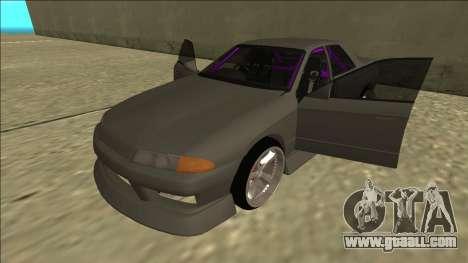 Nissan Skyline R32 Drift Sedan for GTA San Andreas interior