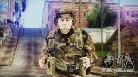 World In Conflict US Marine for GTA San Andreas