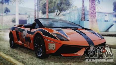 Lamborginhi Gallardo LP-570 Spyder HxH Neferpito for GTA San Andreas