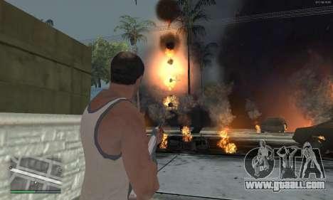 Meteors Mod for GTA San Andreas