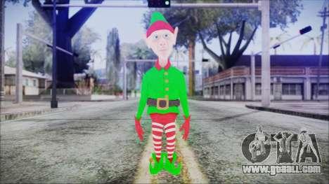 Christmas Elf v2 for GTA San Andreas second screenshot