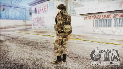 World In Conflict US Marine for GTA San Andreas third screenshot