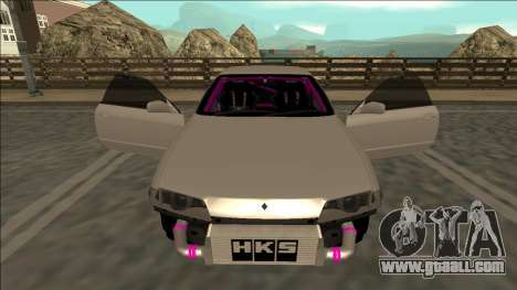 Nissan Skyline R32 Drift for GTA San Andreas interior