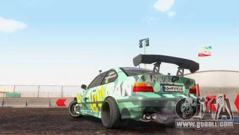 Bmw E36 Full Tuning for GTA San Andreas right view