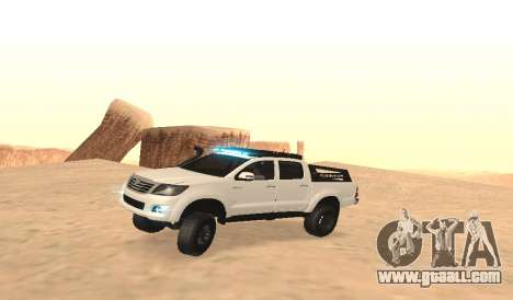 Toyota Hilux 4WD 2015 Rustica for GTA San Andreas