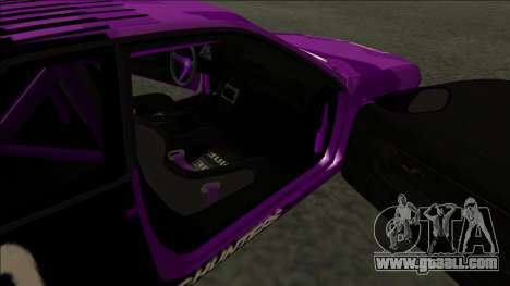 Nissan Skyline R32 Drift Falken for GTA San Andreas inner view
