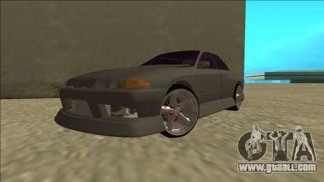 Nissan Skyline R32 Drift Sedan for GTA San Andreas inner view