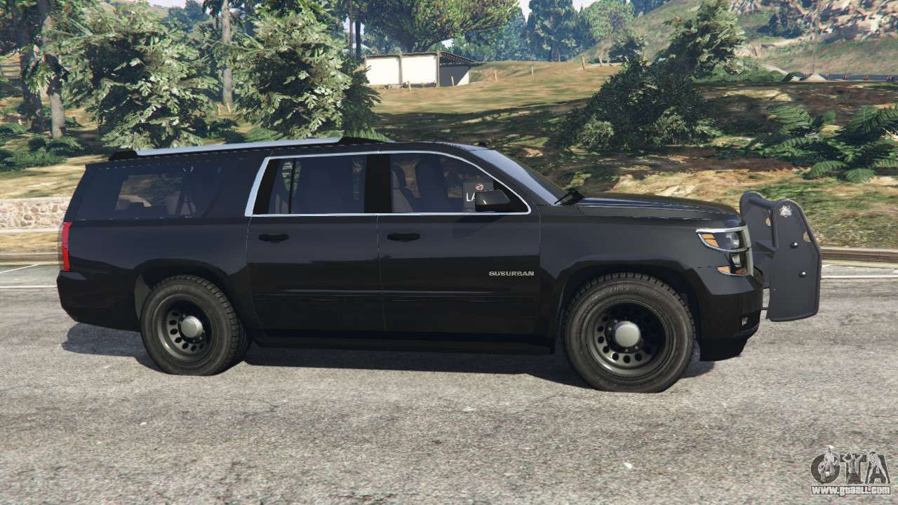 Chevrolet Suburban Police Unmarked 2015 For Gta 5
